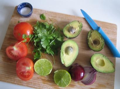 Lækker, frisk guacamole