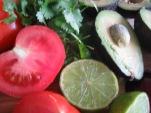 guacamole med koriander