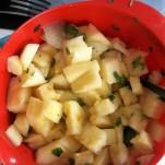 Ananas-melonsalsa